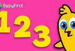 Aprendizaje de Números y Palabras | Clase BabyFirst para niños