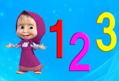 Canción de los números en español