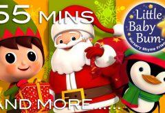 Canciones navideñas en inglés con animación LittleBabyBum