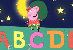 Aprende el abecedario con Peppa Pig