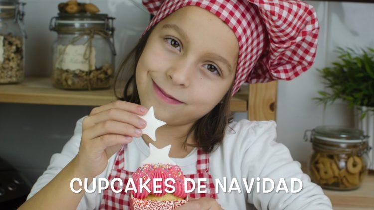 Cupcakes de Navidad – Recetas para hacer con niñas y niños