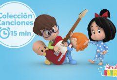Familia Telerín. Colección de Canciones infantiles – 2
