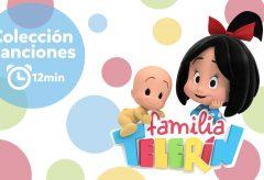Familia Telerín. Colección de Canciones infantiles.