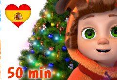 ♫♫♪ Feliz, Feliz Navidad y más Villancicos de Navidad y canciones ♫♪♫ / Dave y Ava