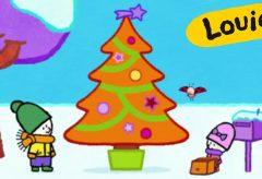 Feliz Navidad – Louie dibújame un árbol de Navidad