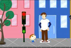 Jota Jota quiere aprender seguridad vial: sirenas