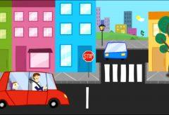 Jota Jota quiere aprender seguridad vial: señales de tráfico