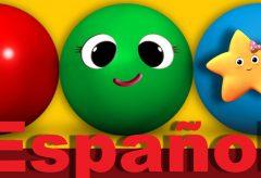 La canción de los colores y los objetos | Canciones infantiles | LittleBabyBum