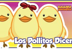 Los Pollitos dicen – Gallina Pintadita