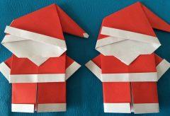 Manualidades para Navidad – Santa Claus de papel
