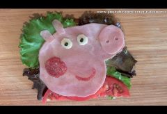 Sandwich Peppa Pig – Recetas para niños
