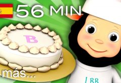 Tortas, tortitas | Canciones infantiles | LittleBabyBum