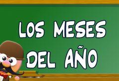 Aprende los meses del año en inglés con Mr. Pea
