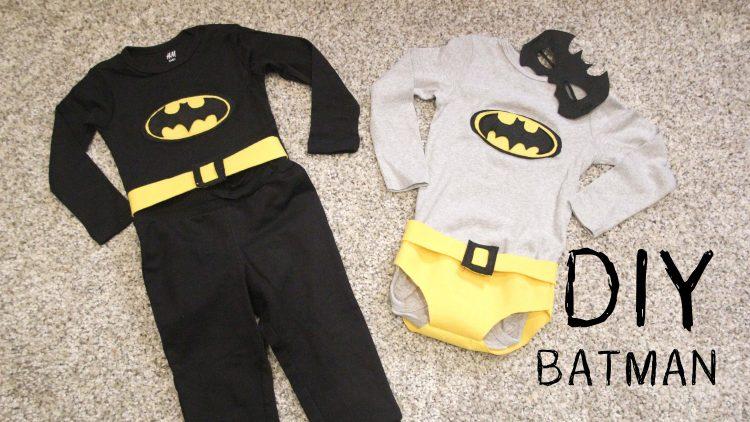Disfraz de Batman / Carnaval para niñas y niños