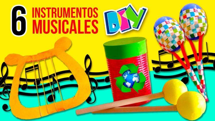 Fabrica tus propios instrumentos caseros. 6 Instrumentos reciclados.