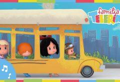 Familia Telerín. Wheels on the bus en Español y Más Canciones Infantiles.