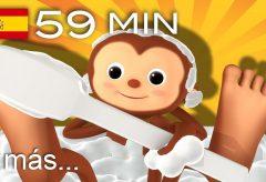 La canción del baño y  más canciones infantiles | ¡LittleBabyBum!