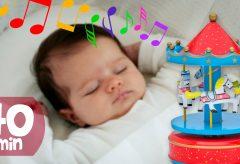 Música para dormir bebés profundamente / Canciones de cuna para bebés / Cajitas Musicales.
