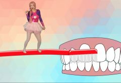 A lavarse los dientes bailando – Lu Li Pampín