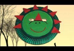 Máscara de dinosaurio para tu disfraz en Carnaval