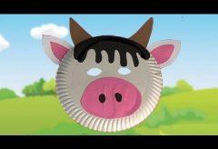 Máscara de vaca para tu disfraz en Carnaval