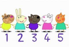 Peppa Pig – Learn to count (english)