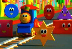Bob, el tren – La aventura con formas