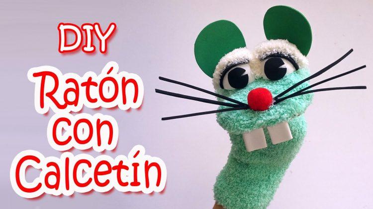 Cómo hacer un títere de Ratón con un calcetín