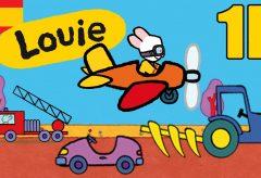 Louie: dibújame vehículos. 1 hora episodios recopilados.