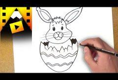 Cómo dibujar un conejito de Pascua – Manualidades