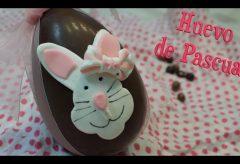 Cómo preparar un huevo de Pascua con la carita de un conejito