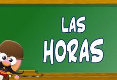 Las horas en inglés/ Inglés para niñas y niños con Mr. Pea