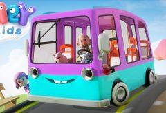 Las Ruedas del Autobús y más canciones infantiles en español / HeyKids