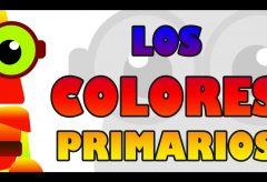 Los colores primarios / Aprende con Edu, el robot