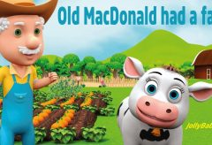 Jolly Baby Club – Old MacDonald Had A Farm / English songs