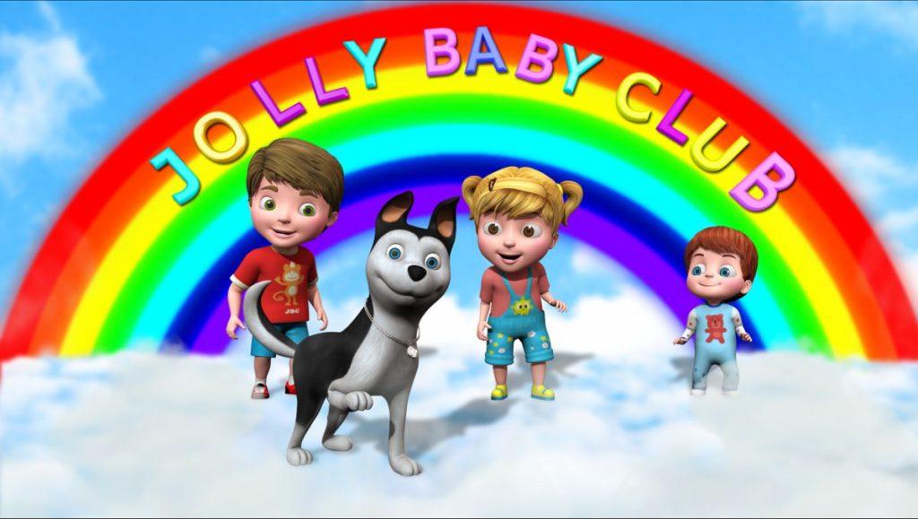 Jolly Baby Club, vídeos infantiles para niñas y niños en idiomas