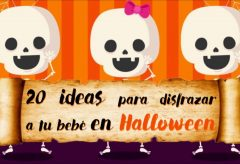 40 ideas en disfraces para tu bebé en Halloween