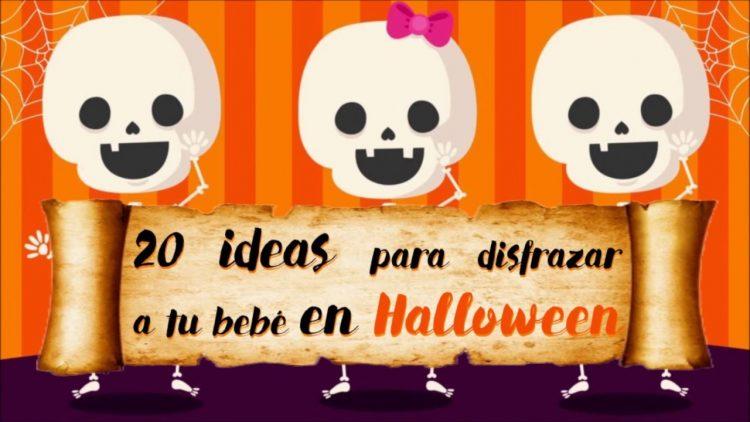 40 ideas en disfraces para tu bebé en Halloween