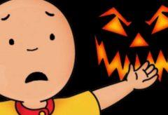 Caillou / A Caillou le gusta Halloween