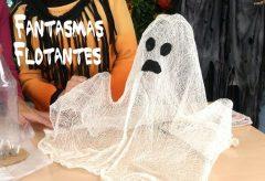 Cómo hacer fantasmas flotantes / Decoración para Halloween