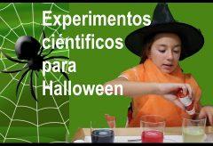 Experimentos científicos divertidos: la bomba de Halloween