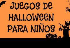 Juegos de Halloween para niños y niñas