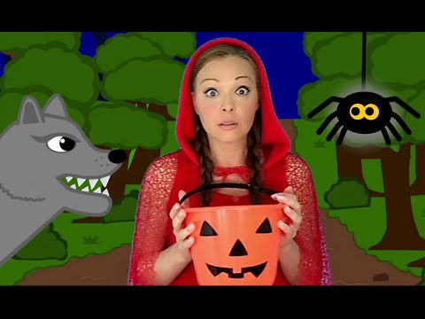 Ten Scary Steps / Halloween songs for Children and Kids
