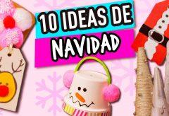 10 ideas para Navidad muy fáciles / Manualidades en Navidad