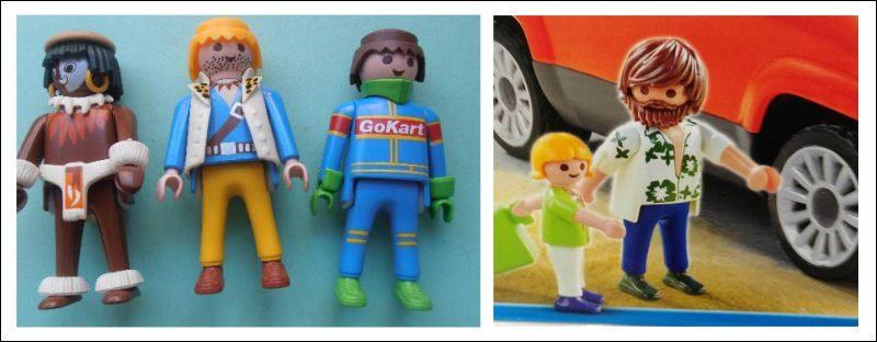 Los Playmobil de antes y de ahora