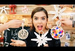 Cómo decorar tu árbol de Navidad de forma fantástica.  / Manualidades en Navidad