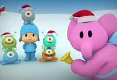 El villancico de Pocoyó y los hermanos marcianos | Navidad