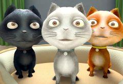Tres Gatitos – Canciones Infantiles | El Reino Infantil